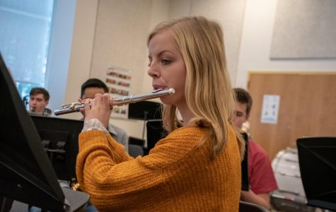 Senior composes piece for wind ensemble