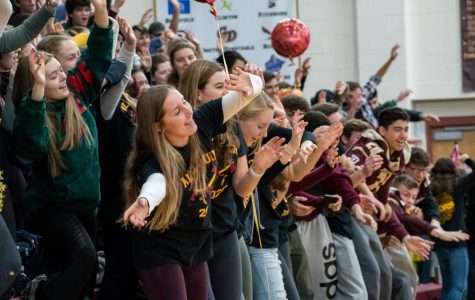 VIDEO: Student Council brings out new, old activities for 2019 pep rally