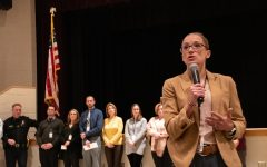 Administration holds meetings to inform students about recent threats