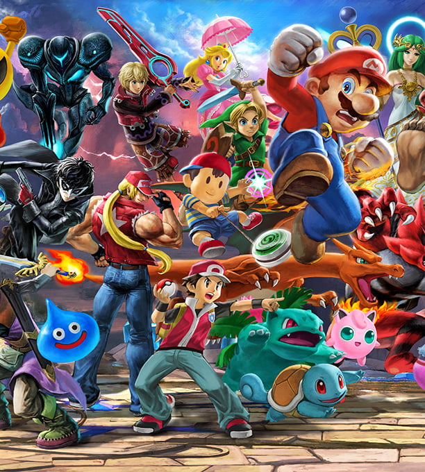 Staff+Writer+Jason+Michalik+writes+that+Super+Smash+Bros+connects+videogame+players+of+all+skill+level.