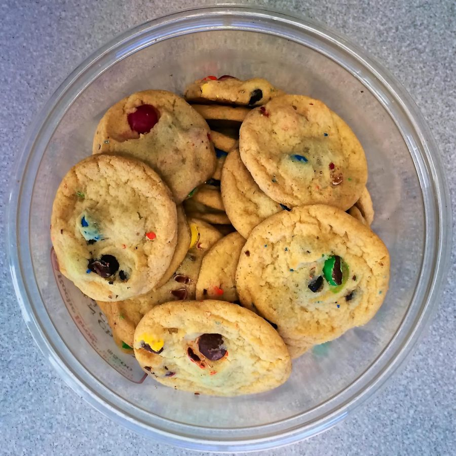 INFOGRAPHIC: students speak about M&M's in cookies