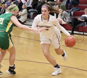 Sophomore duo leads girls' basketball past Notre Dame