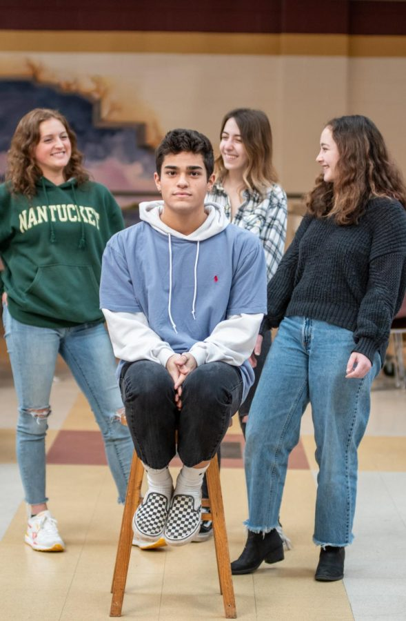 At the end of the day, I had other people behind me, and I had other people who I knew supported me and supported who I am, senior Raphael Paz, surrounded by three of his friends, said.