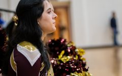 SLIDESHOW: Cheer brings the hype to boys' basketball games