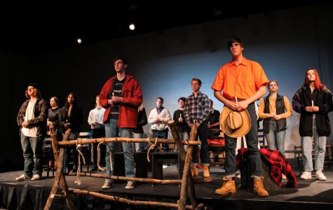 Drama students came together on Feb. 27 during double period 3 and Feb. 28 at 7 p.m.  to perform in this year's winter play, 'The Laramie Project'. The play discusses the brutal murder of Matthew Sheppard, a gay man living in the prejudiced town of Laramie, Wyo. during the nineties.