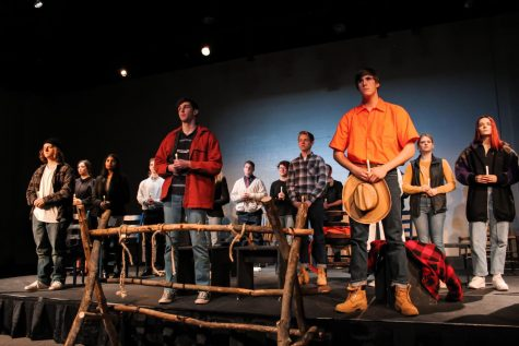 Drama students came together on Feb. 27 during double period 3 and Feb. 28 at 7 p.m.  to perform in this year's winter play,