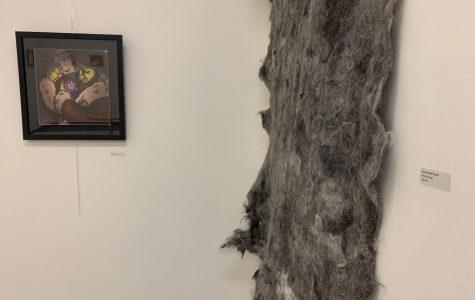 VIDEO: Art Through Business class hosts alumni art show