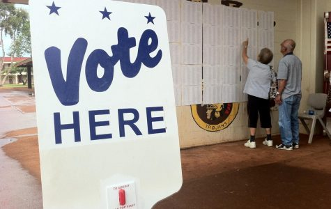 Voters at the Hawaii primary. Staff Writer Kayla Albers writes about the importance of voting in these elections as someone who isn't 18 in her latest post for her blog On the Way Out.