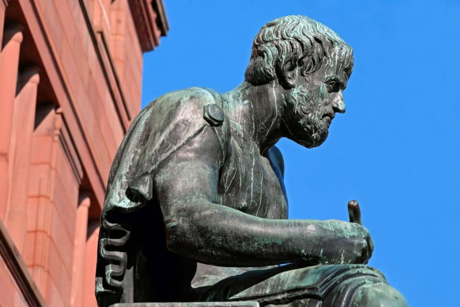 This year, students can take Philosophy and learn about many of the ideas put forth by Aristotle and other philosophers.