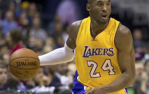 Kobe Byrant at a Lakers vs. Wizards game on Dec. 3 2014. Earlier this year Byrant was tragically killed in a plane crash along with his daughter Gianna.