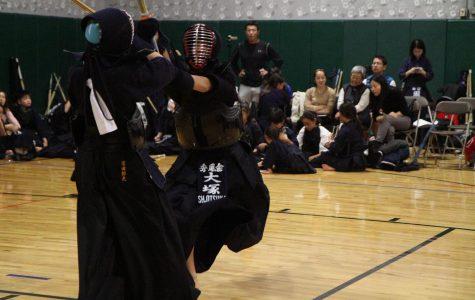 Otsuka learns samurai conduct through kendo