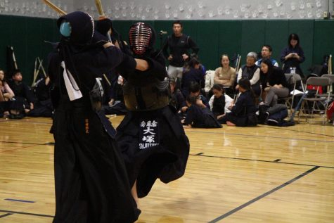 Sophomore Shuto Otsuka practices kendo, a Japanese martial art. Kendo is different from other martial arts because it has a much stricter honor code.