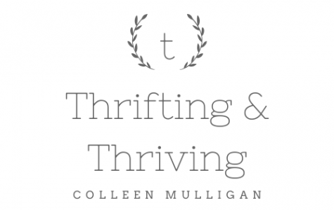 Staff Writer Colleen Mulligan's blog on thrifting. In this post, she talks about the benefits of thrifting over fast fashion.
