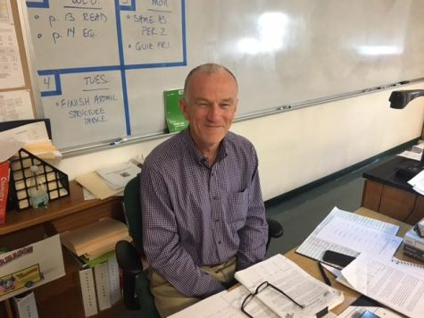 Science teacher Gerald Cushing will retire after eight years of positively impacting the Algonquin community