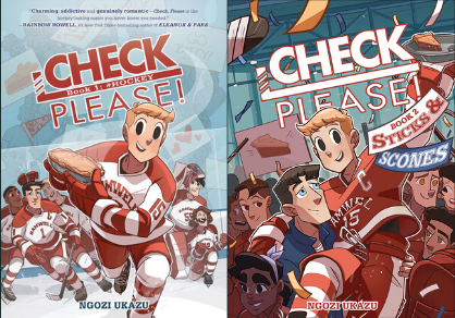 Graphic novelist Ngozi Ukazu has written Check, Please!, a powerful coming of age story. Recently she published the sequel Check, Please!: Sticks & Scones, a New York Times Bestseller.