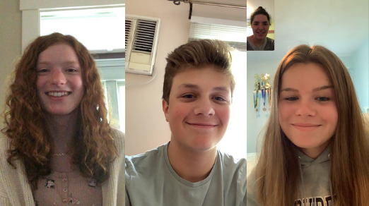 Sophomore Lee Gould, sophomore Jonathan Valentine, and senior Maeve Grandpre among others, reflected on their the first day of school.