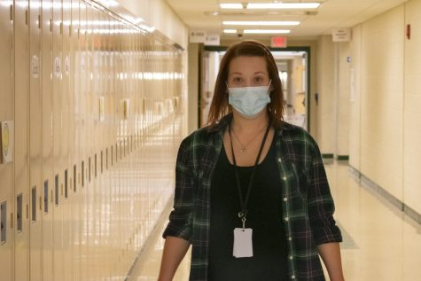 Although initially planning to pursue elementary education, new instructional support aide Shauna Healy looks forward to expanding her career at Algonquin.