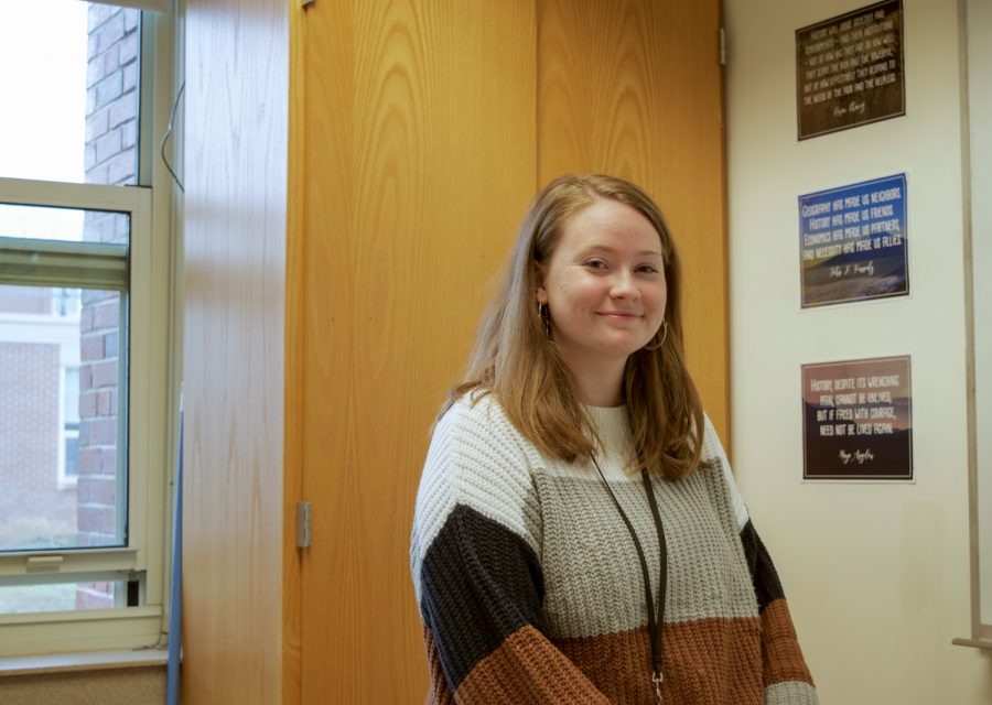 Despite not liking politics herself, new social studies teacher Alisen Laferriere hopes to help students form their own opinions.