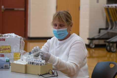 Covid tests were conducted on Dec. 21 and Dec. 22 with more to follow Jan. 4 and Jan. 5. In addition to the optional Covid testing, the school is requiring student flu shots as a safety precaution.