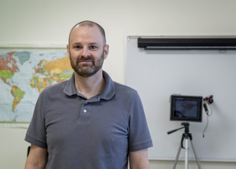 After eight years at the Bancroft School in Worcester, Technology Systems Administrator Richard Cassidy is eager to continue working with computers and deal with technology related issues in the ARHS community.