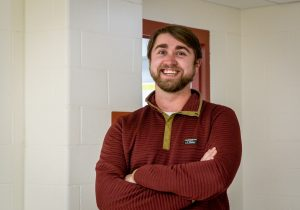 2015 graduate Jonathan Cahill returns to Algonquin, helping students in the classroom and on the field as an Educational Support Professional and football and baseball coach.