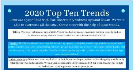 2020 top ten trends