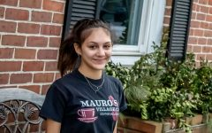 The pandemic has forced many working students such as senior Anni Garden who works at Mauro's Cafe in Southborough, to adjust to different working conditions.