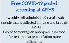 ARHS provides free COVID-19 pooled screening