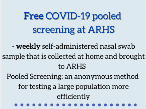 ARHS provides free COVID-19 pooled screening