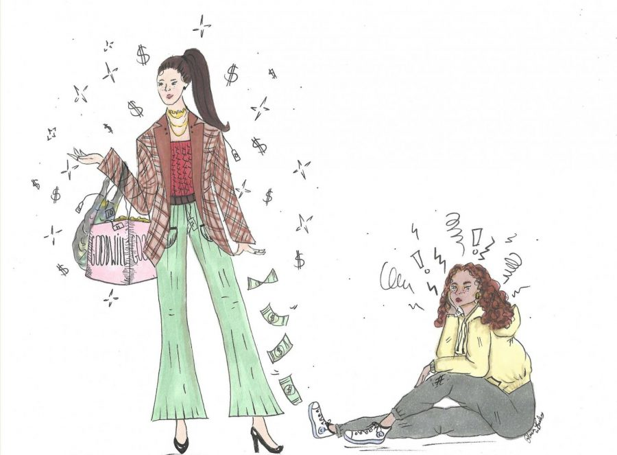 Assistant Opinion Editor Jula Utzschneider writes that while purchasing from secondhand stores can be more sustainable, thrifting can deprive those who cannot afford fast fashion.