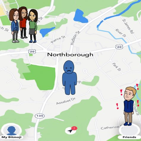 Assistant Sports Editor Zoe Manousos writes that the Snap Map feature of Snapchat can create stress for the app