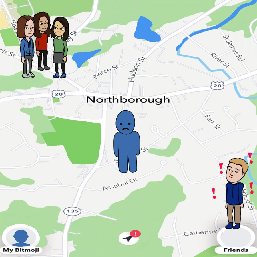 Assistant Sports Editor Zoe Manousos writes that the Snap Map feature of Snapchat can create stress for the app's users and create problems when it comes to privacy.