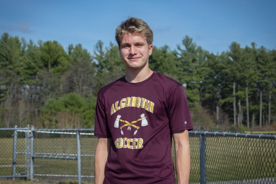 Senior Ben Westphals passion in environmental studies drove him to found the Green Earth Club at Algonquin. The club raises awareness about environmental issues and educates students about the direct impact of their decisions on the planets well-being.