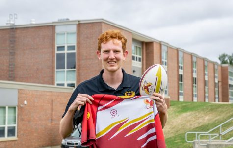 Senior Edward Gostick started his middle school rugby team as his Eagle Scout project. He thought that it would increase their chance of winning in high school since the players would have more experience and knowledge of the game.
