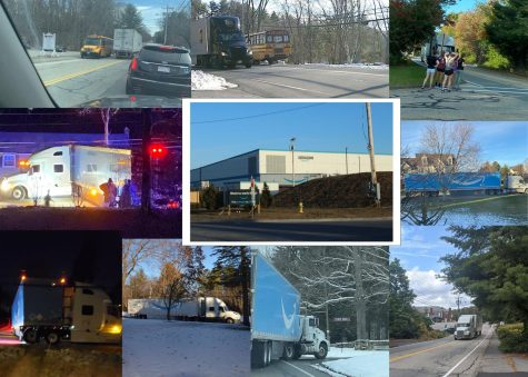 Northborough residents have raised concerns about the impact of truck traffic from the new Amazon warehouses along with other warehouses near ARHS. Some concerned residents documented trucks in the area.