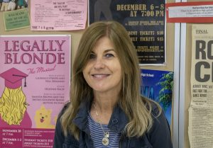 Fine and Performing Arts teacher Maura Morrison, who directed the shows and musicals at Algonquin, is retiring after 34 years in the department.