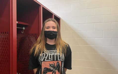 Freshman Mira Denney