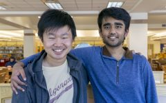 Seniors Henry Zhang and Divyansh Shivashok are hosting a national AI competition called Liftoff 2021.