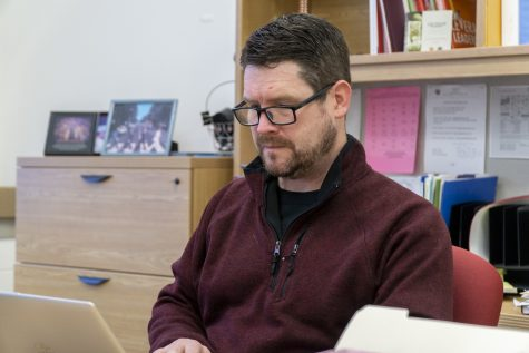 Assistant Principal Tim McDonald will leave Algonquin to pursue teaching at Oak Middle School.